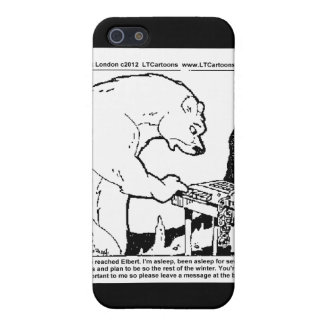 Bear Answering Machine Funny Gifts Tees Cards Etc iPhone 5/5S Cover