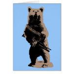 Bear arms Grizzly Bear Cards