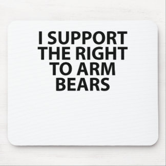 Bear arms Grizzly Bear Tee Shirt.png Mouse Pad