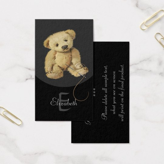 Bear Artists Design Personalised Profile Cards