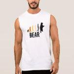 Bear/Ascent of Man Bear Colours Black Paw Back
