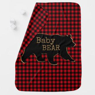 Bear Baby Bear Baby Blanket