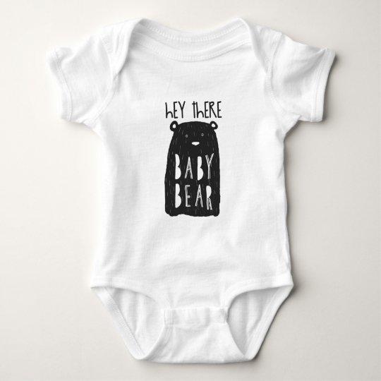Bear Baby Bodysuit