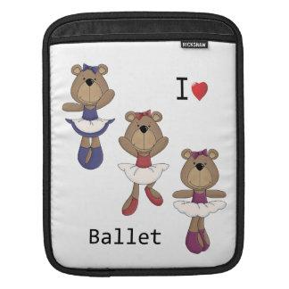 Bear Ballet iPad Sleeve