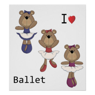 Bear Ballet Poster