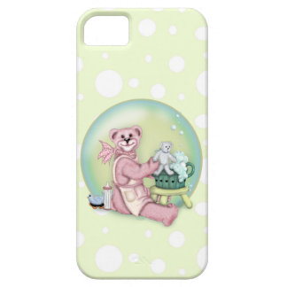 BEAR BATH LOVE Barely There Phone Case
