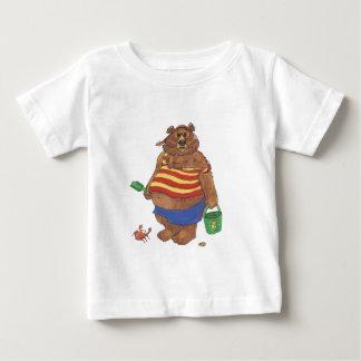 Bear Beach Baby T-Shirt