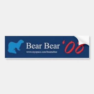 Bear Bear Bumper Sticker