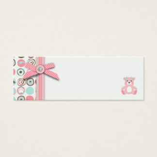 Bear Bear Girl Favor Tag