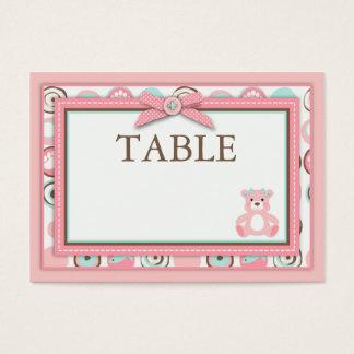 Bear Bear Girl Table Card Flat Mini