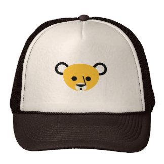 Bear Bears Head Cute Cartoon Animal Mammalia Cap