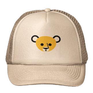 Bear Bears Head Cute Cartoon Animal Mammalia Trucker Hats