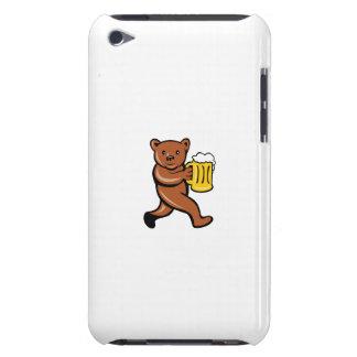 Bear Beer Mug Running Side Cartoon iPod Touch Cases
