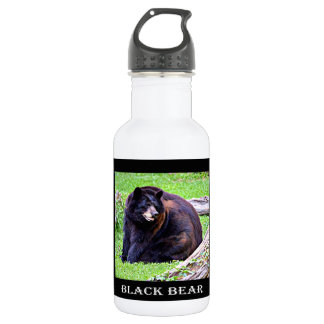 Bear (Black) 532 Ml Water Bottle