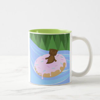 Bear Bliss Doughnut River Floatie Mug