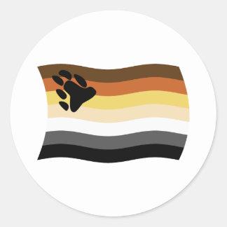 Bear Brotherhood Flag Sticker