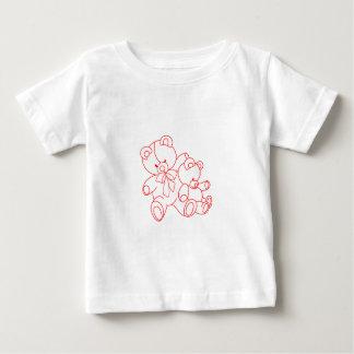 Bear Buddies Redwork Infant T-Shirt