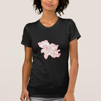 Bear Buddies Redwork T Shirt