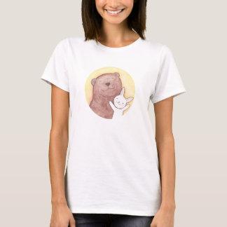 Bear & Bunny Happy Cute T-shirt Animal Graphic tee