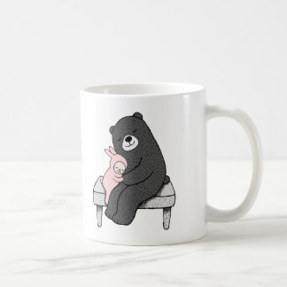 Bear & Bunny Mug Cute Bear and Bunny Love Mug