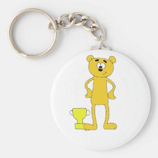 Bear Champ Keychain