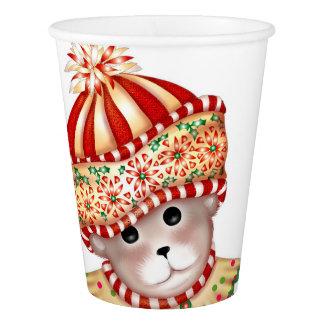 BEAR CHRISTMAS 6 CARTOON Paper cup
