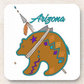 Bear Clan Arrow Drink Coaster