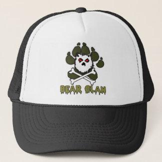 BEAR CLAN TRUCKER HAT BLK/WHITE