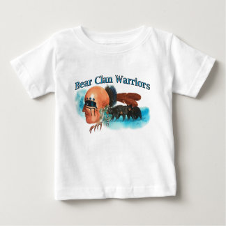 Bear Clan Warriors Baby T-Shirt