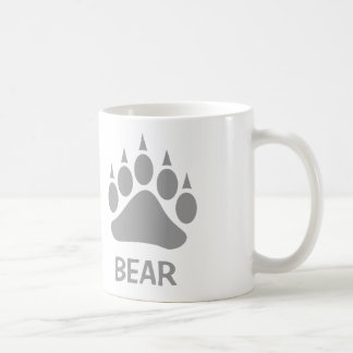 Bear Claw Bear (Grey) Coffee Mug