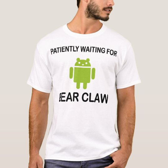 Bear Claw Droid T-Shirt