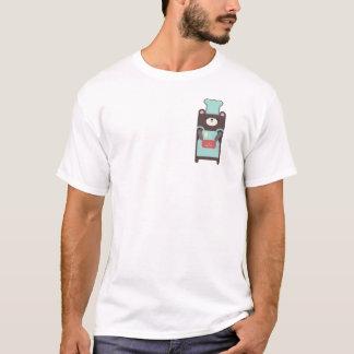 bear cook heart T-Shirt