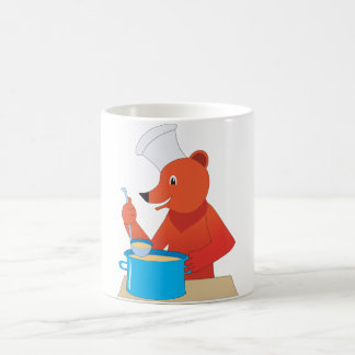 Bear Cooking Soup Mug