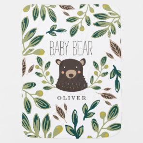 Bear Cub Baby Blanket