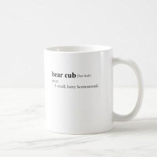 BEAR CUB (definition) Basic White Mug