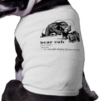 BEAR CUB PET TEE SHIRT