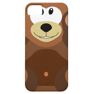Bear cub in cuddly toy iPhone 5 cases