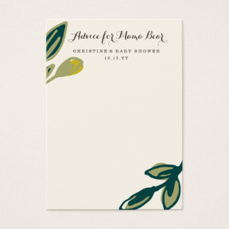 Bear Cub | Mommy Advice Cards