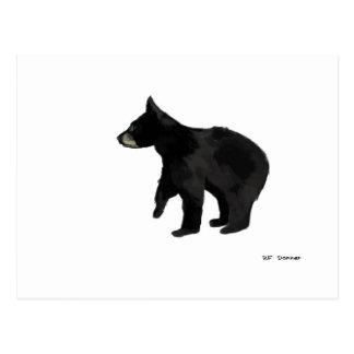 Bear cub postcard