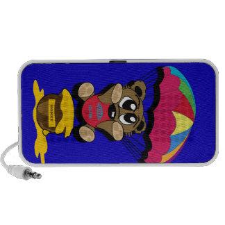 Bear cub iPod speakers