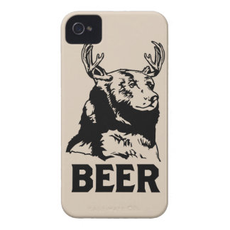 Bear + Deer = Beer iPhone 4 Case