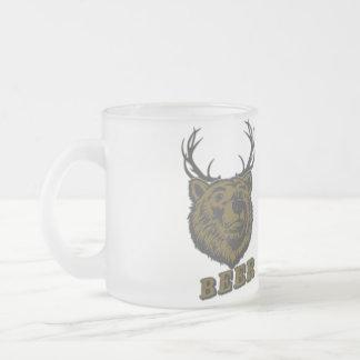 Bear + Deer = Beer? Coffee Mugs