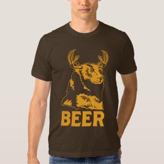 Bear + Deer = Beer Tshirt