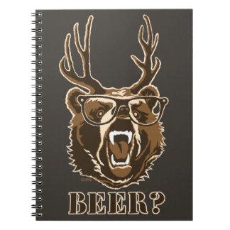 Bear, Deer or Beer Notebook