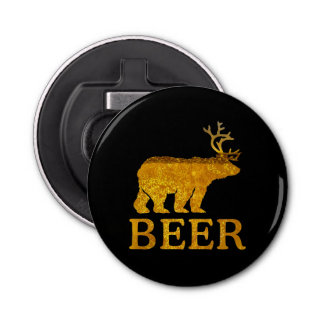 Bear Deer or Beer on Beer Bottle Opener