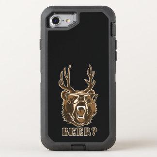 Bear, deer or beer OtterBox defender iPhone 8/7 case