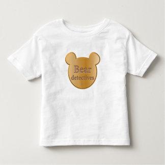 Bear detective logo Fine Jersey T-Shirt