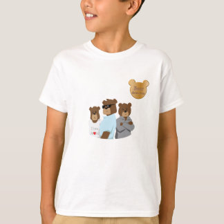 Bear detectives ilustration TAGLESS® T-Shirt