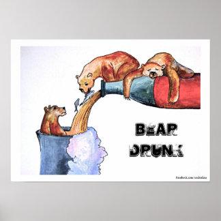 Bear Drunk Poster