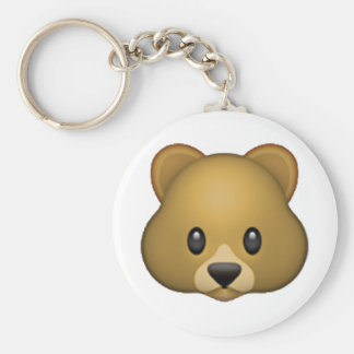 Bear - Emoji Key Ring
